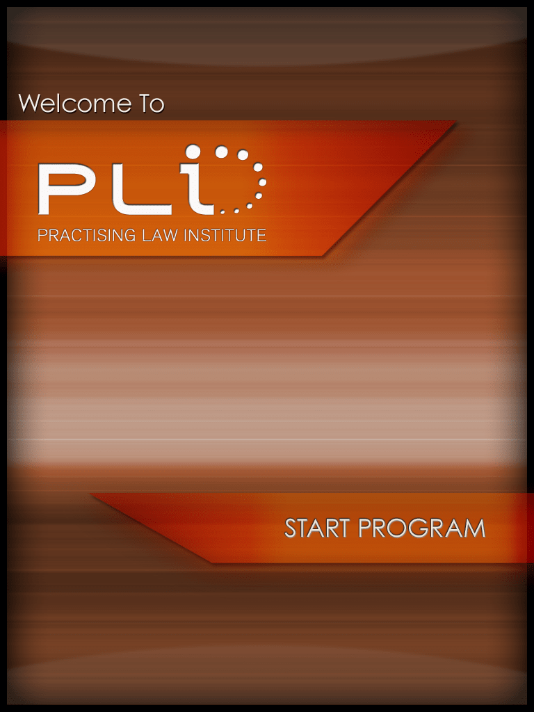 PLI tablet app design